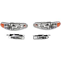 Headlight and Fog Light Kit - DOT/SAE Compliant