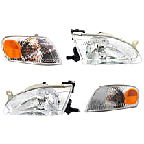 Replacement Corner Light and Headlight Kit - OE Replacement, DOT/SAE Compliant