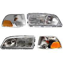 Headlight and Corner Light Kit - DOT/SAE Compliant
