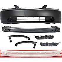Replacement Bumper Filler, Bumper Cover, Bumper Absorber, Bumper Reinforcement and Bumper Bracket Kit