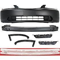 Replacement Bumper Reinforcement, Bumper Cover, Bumper Absorber, Bumper Filler and Bumper Bracket Kit