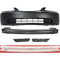 Replacement Bumper Reinforcement, Bumper Cover, Bumper Absorber and Bumper Bracket Kit