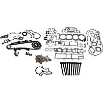 Head Gasket Set, Timing Chain Kit, Water Pump and Cylinder Head Bolt Kit