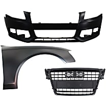 Bumper Cover, Grille Assembly and Fender Kit