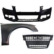 Replacement Grille Assembly, Bumper Cover and Fender Kit