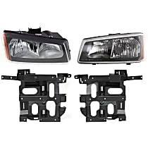 Headlight Bracket - Driver and Passenger Side, with Right and Left Headlights