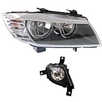 Fog Light - Passenger Side, with Right Headlight