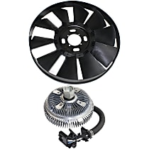 Replacement Fan Clutch and Fan Blade Kit