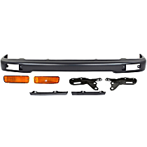 Replacement Bumper Filler, Turn Signal Light, Bumper and Bumper Bracket Kit