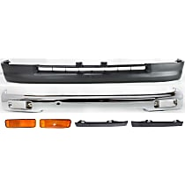 Replacement Bumper Filler, Turn Signal Light, Bumper and Valance Kit