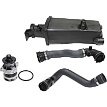 Replacement Coolant Reservoir, Water Pump, Radiator Hose Kit