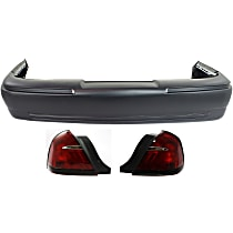 Replacement Tail Light and Bumper Cover Kit