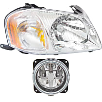 Fog Light - Passenger Side, with Right Headlight