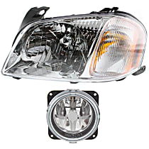 Fog Light - Driver Side, with Left Headlight