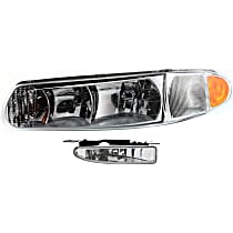 Fog Light - Driver Side, with Left Headlight