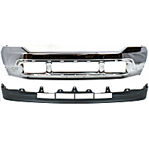 Bumper - Front, Chrome, with Lower Valance, without Upper Valance Panel