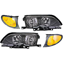 Replacement Headlight and Corner Light Kit