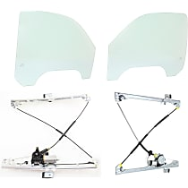 Replacement Window Regulator and Door Glass Kit