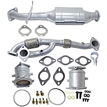 Catalytic Converter and Exhaust Pipe Kit Front and Rear, Driver and Passenger Side, For Mpdels with 3.5L Eng California Emissions 47-State Legal (Cannot ship to CA, NY or ME)