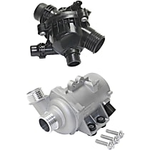 Engine Coolant Thermostat And Water Pump Kit