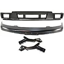 Replacement Bumper Cover, Bumper and Bumper Bracket Kit