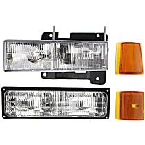 Replacement Side Marker, Reflector, Turn Signal Light, Headlight Kit