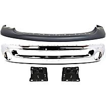 Replacement Bumper Cover, Bumper and Bumper Bracket Kit