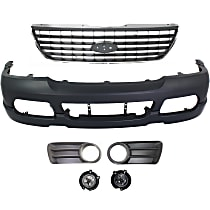 Grille Assembly, Bumper Cover, Fog Light Trim and Fog Light Kit