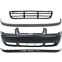 Replacement Bumper Cover, Bumper Trim, Grille Assembly and Valance Kit