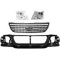 Grille Assembly, Headlight and Header Panel Kit