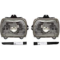 Replacement Bumper Filler and Headlight Kit