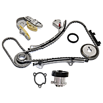 Timing Chain Kit - 4 Cylinder, 2.5 Liter Engine, With Sprocket (Gear), With Water Pump