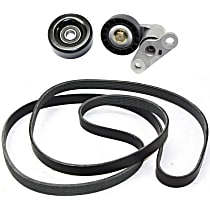 Accessory Belt Idler Pulley - Direct Fit, Set of 3