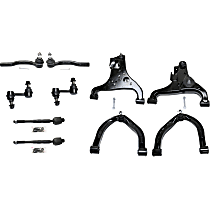 Control Arm, Sway Bar Link and Tie Rod End Kit