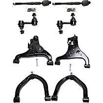 Replacement Control Arm, Sway Bar Link and Tie Rod End Kit