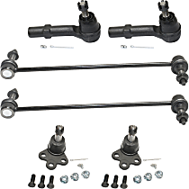 Ball Joint, Tie Rod End and Sway Bar Link Kit