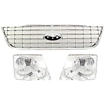 Grille Assembly and Headlight Kit