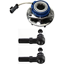 Wheel Hub and Tie Rod End Kit