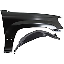 Fender - Front, Passenger Side, with Right Fender Liner