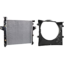 Cooling Fan Assembly, Fan Shroud and Radiator Kit