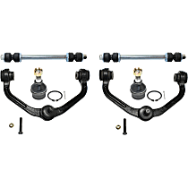 Control Arm, Sway Bar Link and Ball Joint Kit