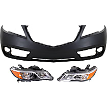 Bumper Cover and Headlight Kit