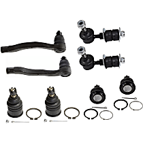 Sway Bar Link, Ball Joint and Tie Rod End Kit