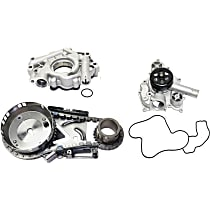 Replacement Water Pump, Timing Chain Kit and Oil Pump Kit