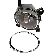 Fog Light Trim - Passenger Side, Chrome, with Right Fog Light