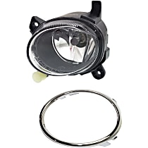 Fog Light Trim - Driver Side, Chrome, with Left Fog Light