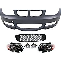 Bumper Cover, Fog Light, Grille Assembly and Headlight Kit