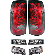 Replacement Tail Light, Headlight and Turn Signal Light Kit