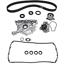 Oil Pump, Valve Cover Gasket, Water Pump and Timing Belt Kit