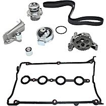 Oil Pump, Valve Cover Gasket and Timing Belt Kit